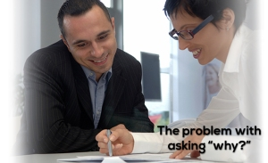 the problem with asking why blog